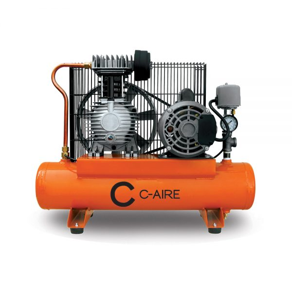 1 HP S175 Series HD Fire Protection Air Compressor by C-Aire - S175H-HD1-115