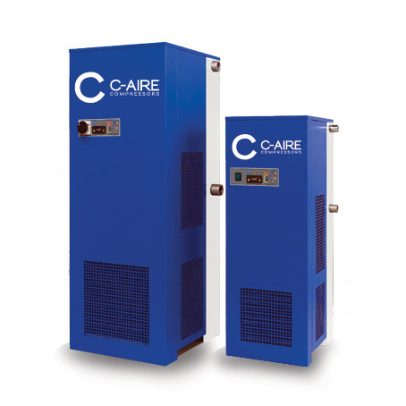 High Temp Refrigerated Air Dryer from C-Aire Compressors
