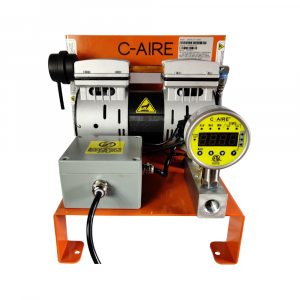 1 HP S281 Series Fire Protection Air Compressor by C-Aire - S281R-LD1-115PD