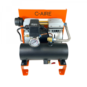 1 HP S280 Series Fire Protection Air Compressor by C-Aire - S280R-LD1-115P