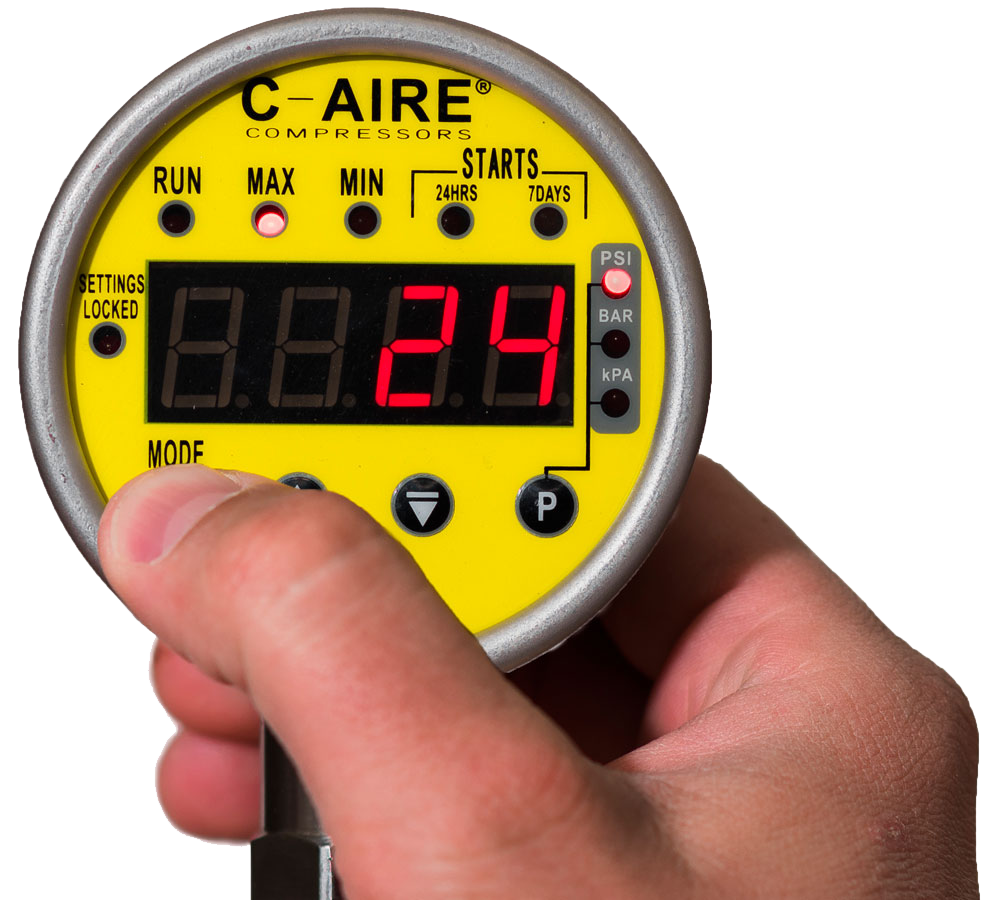 C-Aire AMD Gauge from C-Aire Compressors