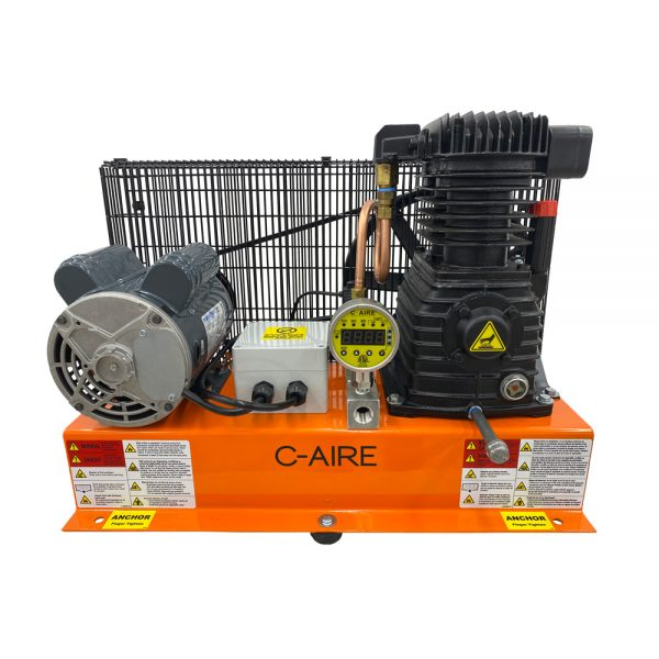 1 HP S600B Series Fire Protection Air Compressor by C-Aire - S600B-HD1-115PD