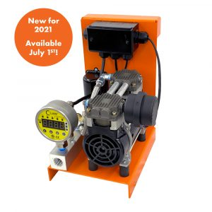 0.5 HP S110R Series LD Fire Protection Air Compressor by C-Aire - S110R-LD1-115PD