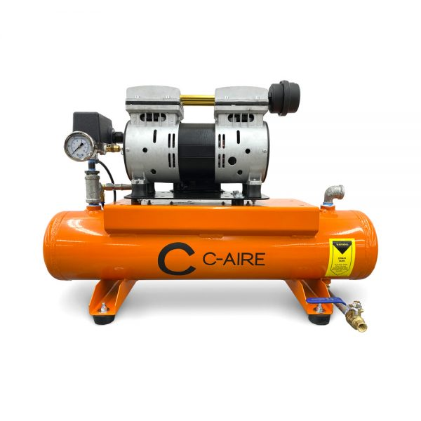 1 HP S275 Series LD Fire Protection Air Compressor by C-Aire - S275H-LD1-115