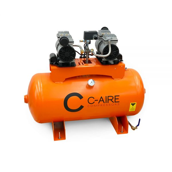 2 HP S550 Series LD Fire Protection Air Compressor by C-Aire - S550H-LD1-115
